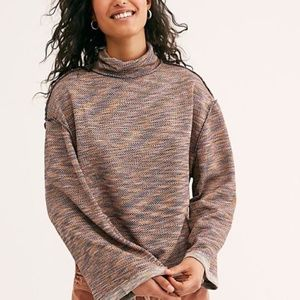 "FREE PEOPLE ""Sunny Days Turtleneck Sweater"""